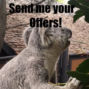Don't be shy! Send me your offers